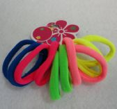 48 Units of 10 pc Neon Pony Tail Holders