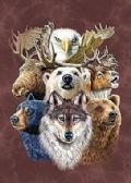 50 Units of 3D Picture 9712--American Wildlife