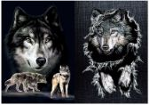 50 Units of 3D Picture 9735--Wolves