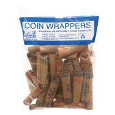 100 Units of 36 Count assorted coin wrapper - Coin Holders & Banks