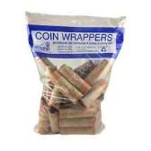 100 Units of 36 Count quarter wrapper - Coin Holders & Banks