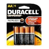 48 Units of Duracell AA 4 count