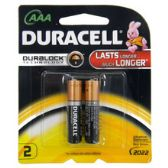 96 Units of Duracell AAA 2 count