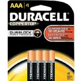 48 Units of Duracell AAA 4 Count