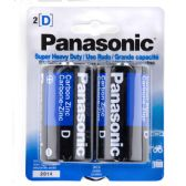 96 Units of Panasonic battery D 2 pack