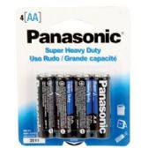 96 Units of Panasonic battery AA 4 pack