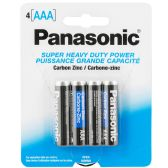 96 Units of Panasonic battery AAA 4 pack
