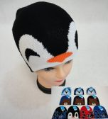 36 Units of Child's Knit Hat [Dog/Bear/Shark/Penguin] - Winter Beanie Hats