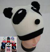 72 Units of Kid's Knit Hats [Cat/Strawberry/Panda/Owl]