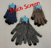 60 Units of Touch Screen Gloves [Variegated] - Winter Gloves