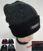36 Units of Insulated Knitted Winter Hat with Plush Lining [Two-Tone]
