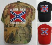 36 Units of KISS MY REBEL ASS Ball Cap