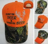 36 Units of Huntin Deer & Drinkin Beer Hat