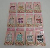 96 Units of Decorated Artificial Nail [Miss Seven]