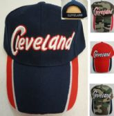 2cec8aa30ec BESTSELLER 48 Units of Cleveland Ball Cap  Navy Red  - Baseball Caps   Snap