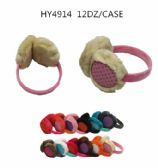 24 Units of Winter Assorted Colors Warm Fuzzy Earmuffs - Masks