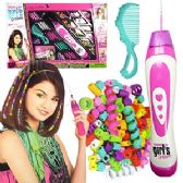 18 Units of FASHION UP HAIR BEADING KITS.