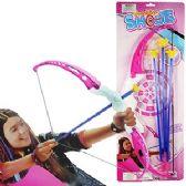 48 Units of 4 PIECE PINK ARCHERY SETS - Darts & Archery Sets