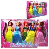 6 Units of 22 PIECE PRINCESS DOLL COLLECTIONS - Dolls