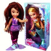 12 Units of JESSICA MERMAID DOLLS - Dolls