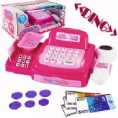 12 Units of 13 Piece Toy Cash Register Sets w/ Lights and sound - Educational Toys