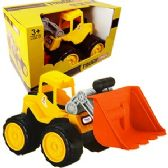 4 Units of JUMBO TOY FRONT LOADER CONSTRUCTION TRUCKS