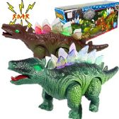 30 Units of WALKING PREHISTORIC DINOSAURS W/ LIGHTS & SOUND. - Animals & Reptiles