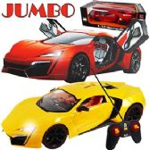 12 Units of JUMBO REMOTE CONTROL RACING-GO CARS.