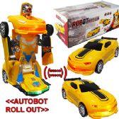 36 Units of BUMP-N-GO ROBOT RACE CARS W LIGHTS & SOUND