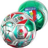 60 Units of No. 2 METALLIC MEXICO SOCCER BALLS