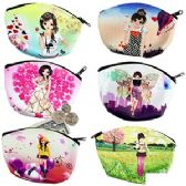 120 Units of MANGA GIRLS COIN PURSES. - Coin Holders & Banks
