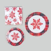 48 Units of Paper Party Tableware