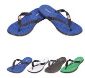 36 Units of Men's Flip Flops--SPORTS with Flag