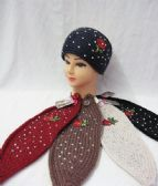 36 Units of Warm Winter Ear Warmers Floral