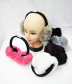 36 Units of Warm Winter Ear Warmers Solid Assorted Colors
