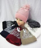 36 Units of Womens Winter Fashion Beanie With Rhinestones