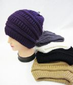 36 Units of Womens Slouch Winter Beanie Assorted Colors