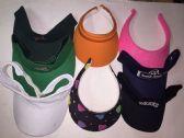 144 Units of Unisex Assorted Adults Sun Visors - Baseball Caps & Snap Backs