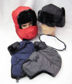 36 Units of Mens winter Pilot Hat Assorted