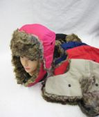 36 Units of Winter Fashion Pilot Hat With Fur