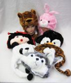 36 Units of Assorted Winter Animal Hats