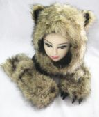 12 Units of Winter Animal Hat - Winter Animal Hats
