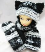 12 Units of Wolf Winter Animal Hat - Winter Animal Hats