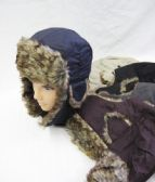 36 Units of Mens winter Pilot Hat Assorted - Winter Helmet Hats
