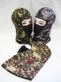 36 Units of Mens Camo Ski Masks - Ski Gloves