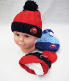 48 Units of Baby Boy Winter Hat With Car - Junior / Kids Winter Hats