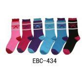 360 Units of Women's Printed Bow Crew Sock