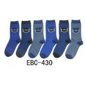 360 Units of Women's Printed Crew Sock Denim Pockets Crew Socks