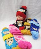 24 Units of Toddler Winter Warm Sets