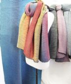 24 Units of Winter Warm Multicolored Fashion Scarf - Winter Scarves